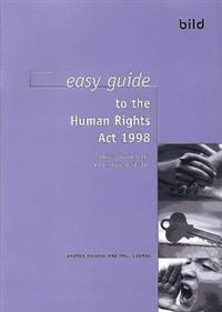 Easy Guide to the Human Rights Act