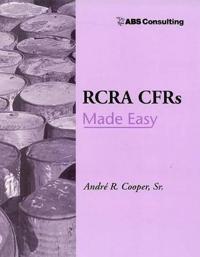 Rcra Cfrs Made Easy