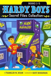 The Hardy Boys Secret Files Collection, Books 1-5: Trouble at the Arcade; The Missing Mitt; Mystery Map; Hopping Mad; A Monster of a Mystery