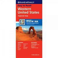 Rand McNally Western United States Regional Map