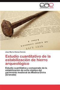 Estudio Cuantitativo de La Estabilizacion de Hierro Arqueologico
