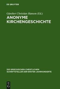 Anonyme Kirchengeschichte