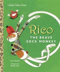 Rico the Brave Sock Monkey
