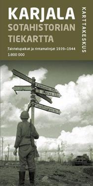 Karjala sotahistorian tiekartta, 1:800 000