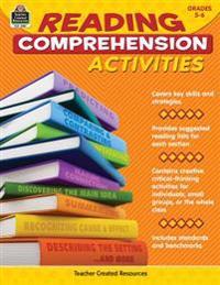 Reading Comprehension Activities, Grades 5-6
