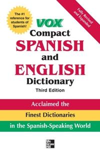 Vox Compact Spanish and English Dictionary