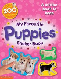 My Favourite Puppies Sticker Book