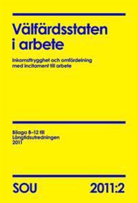 Välfärdsstaten i arbete : inkomsttrygghet och omfördelning med incitament till arbete (SOU 2011:2)