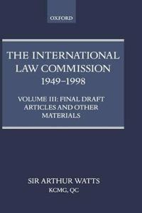 The International Law Commission, 1949-1998