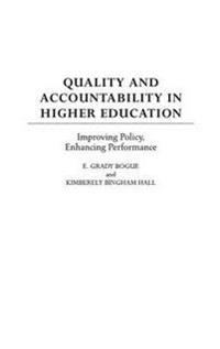 Quality and Accountability in Higher Education