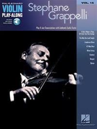 Stephane Grappelli: Violin Play-Along Volume 15
