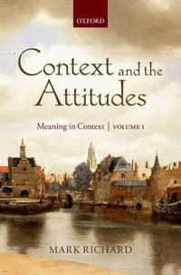 Context and the Attitudes