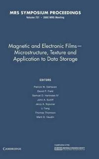 Magnetic and Electronic Films