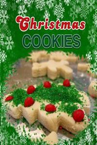 Christmas Cookies: Holiday Chrismas Cookies Blank Recipe Book