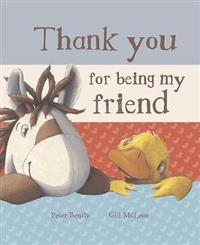 Thank You for Being My Friend (Book and Soft Toy Gift Set)