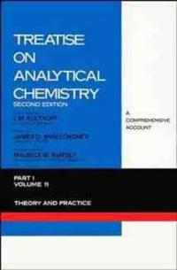 Treatise on Analytical Chemistry