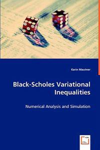 Black-scholes Variational Inequalities