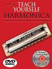 Teach Yourself Harmonica [With Method Book and Harmonica and CDs and DVD]
