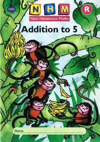 New Heinemann Maths: Reception: Addition to 5 Activity Book (8 Pack)