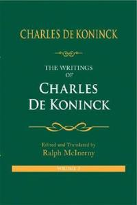 The Writings of Charles De Koninck