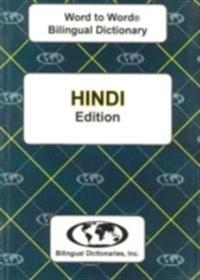 English-HindiHindi-English Word-to-Word Dictionary