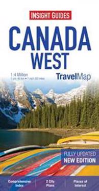 Insight Travel Maps: Canada West