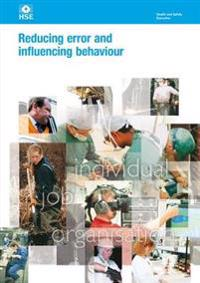 Reducing error and influencing behaviour Revised