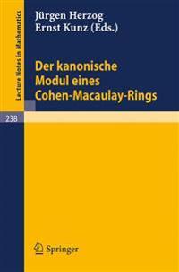 Der Kanonische Modul Eines Cohen-Macaulay-Rings
