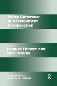 Policy Coherence in Development Co-Operation