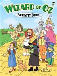 Wizard of Oz Activity Book