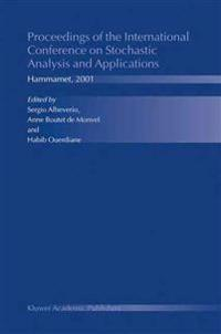 Proceedings Of The International Conference On Stochastic Analysis And Applications