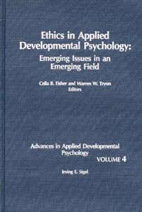 Ethics in Applied Developmental Psychology