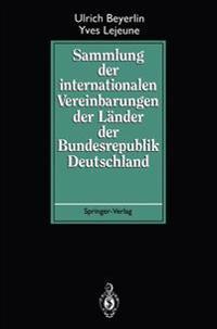 Sammlung Der Internationalen Vereinbarungen Der Lander Der Bundesrepublik Deutschland