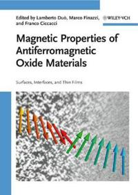 Magnetic Properties of Antiferromagnetic Oxide Materials: Surfaces, Interfaces, and Thin Films