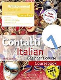 Contatti 1 Italian Beginner's Course/ Support Book