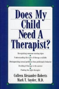 Does My Child Need a Therapist?