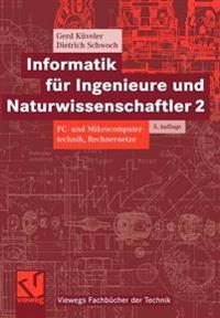 Infurmatik Fur Ingenieure Und Naturwissenschaftler 2