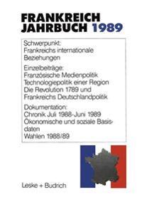 Frankreich-jahrbuch 1989