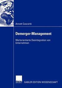 Demerger-Management