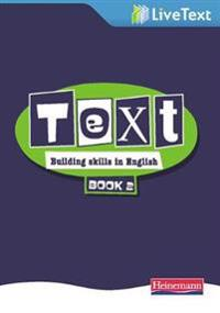 Text: Building Skills in English 11-14 LiveText 2