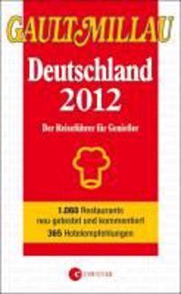 GAULT MILLAU Deutschland 2012