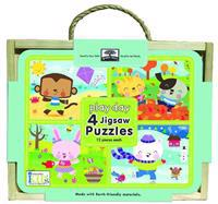 Green Start Jigsaw Puzzle Box