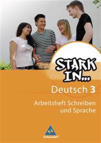 Stark in Deutsch 3. Arbeitsheft. Das Sprachlesebuch für Förderschulen