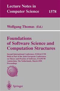 Foundations of Software Science and Computation Structures