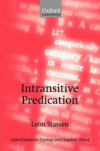 Intransitive Predication