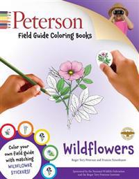 Peterson Field Guide Coloring Books: Wildflowers [With Sticker(s)]