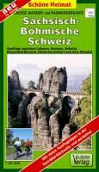 Große Wander- und Radwanderkarte Sächsisch-Böhmische Schweiz 1 : 30 000