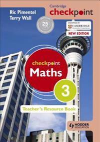 Cambridge Checkpoint Maths Teacher's Resource Book 3 - Terry Wall - böcker (9781444143942)     Bokhandel