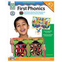 Color Photo Games: First Phonics, Grades K - 1