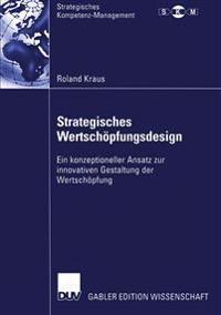 Strategisches Wertschöpfungsdesign